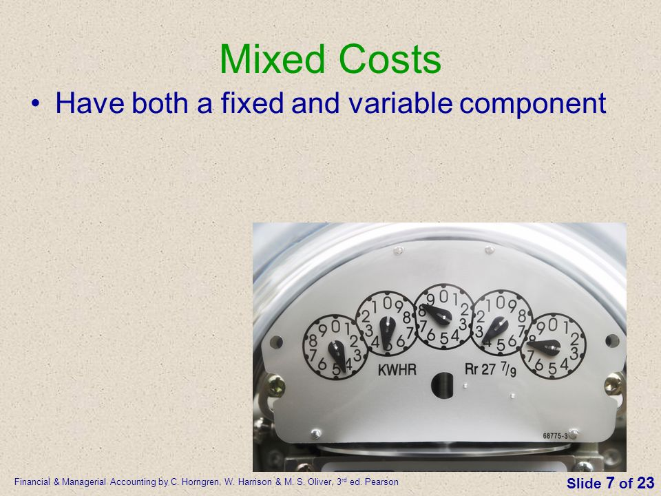 separating a mixed cost into the fixed and variable components It is important to separate variable and fixed costs another reason it is important to separate these costs is because variable costs are used to determine the contribution margin, and the .
