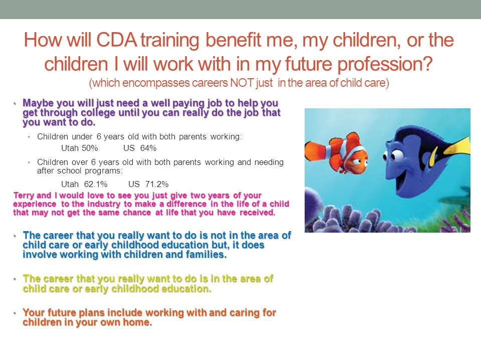 What students are saying about the cda training ppt for I want to design my own home online