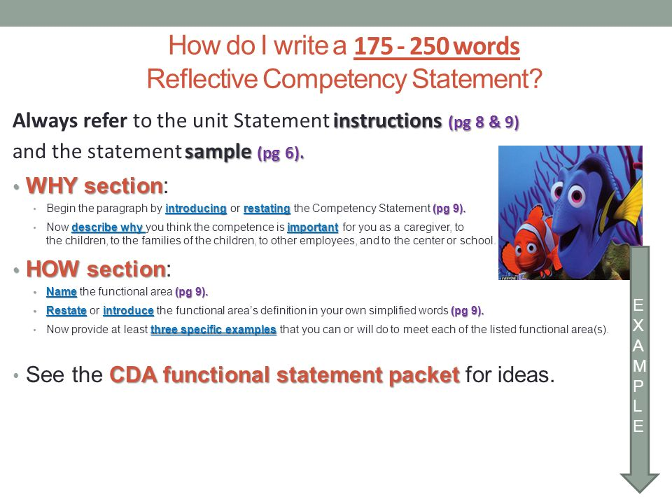 competency statement vi Title: competency examples with performance statements author: heatherf last modified by: washington state created date: 11/6/2008 9:08:00 pm company.