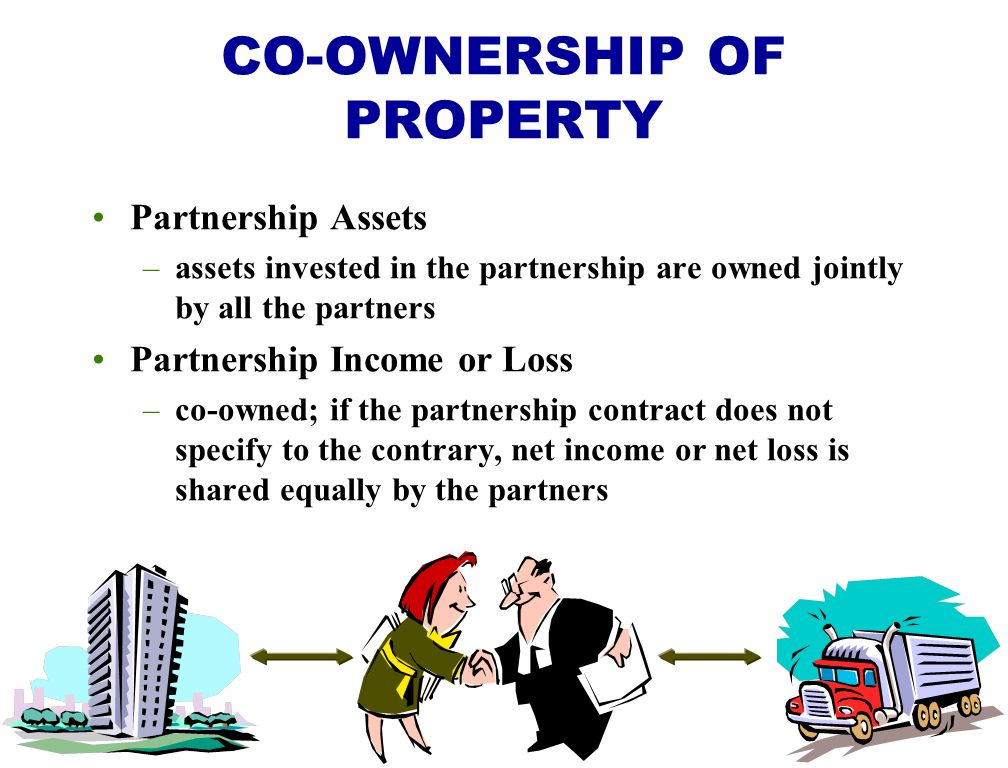 CO-OWNERSHIP OF PROPERTY
