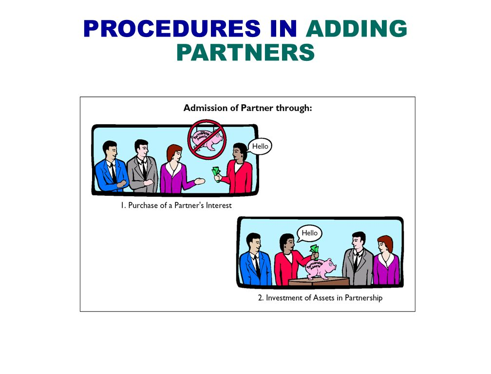 PROCEDURES IN ADDING PARTNERS