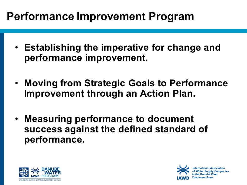 49 Performance Improvement Program  Performance Improvement Plan Definition