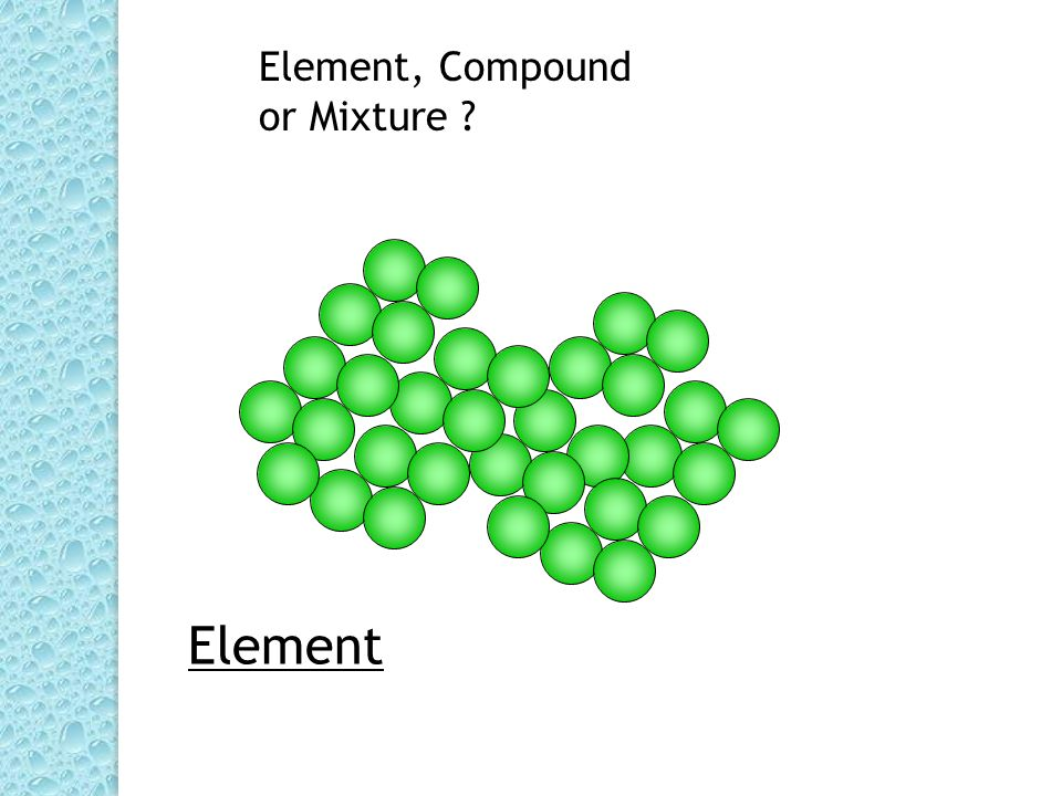 Mixture compound
