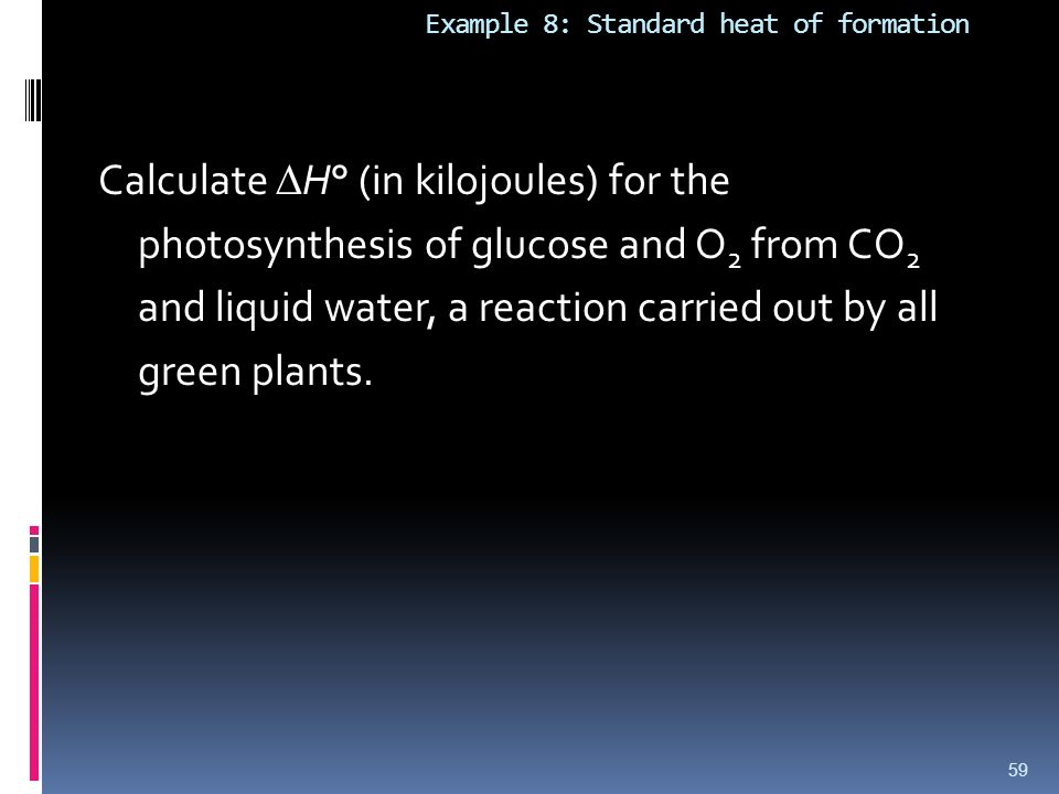 Standard enthalpy of glucose?