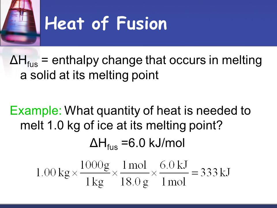The Study Of The Heat Flow Of A Chemical Reaction Or
