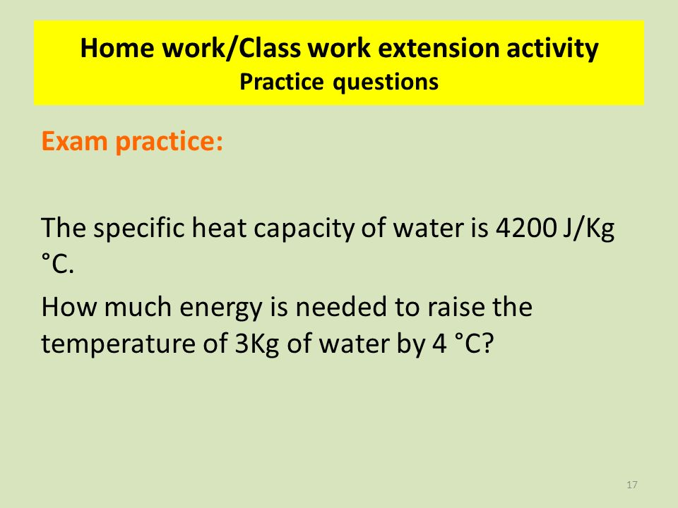 Specific Heat Practice Problems Worksheet With Answers Page 6 – Specific Heat Practice Problems Worksheet