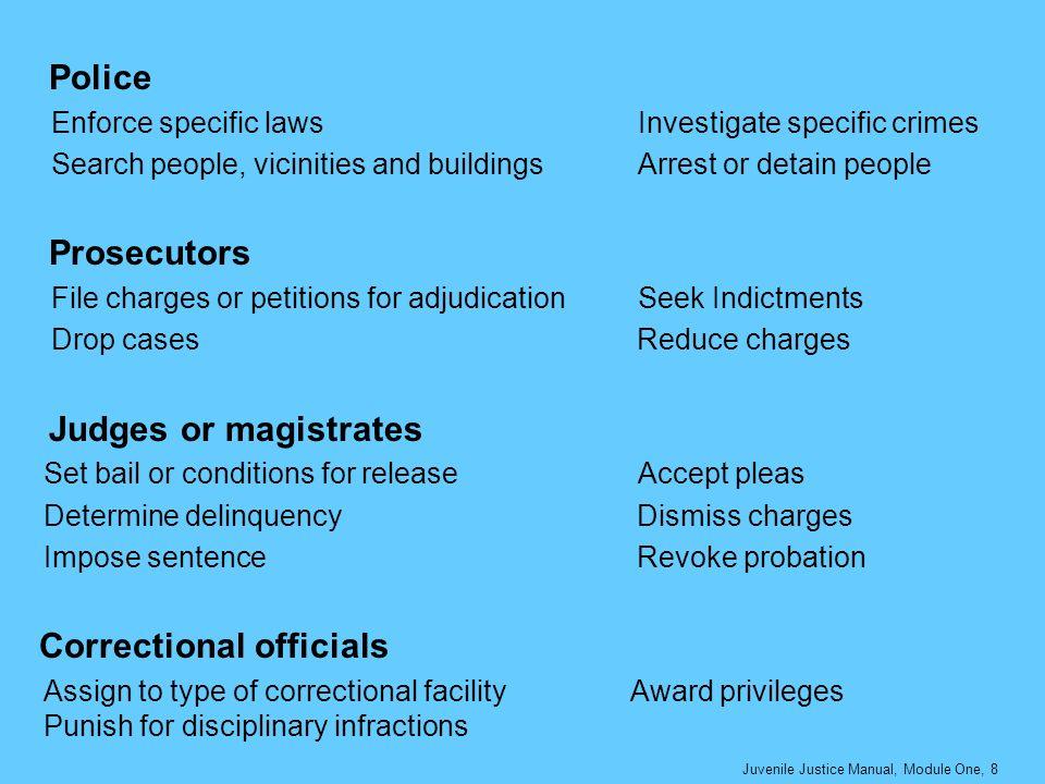 Correctional officials