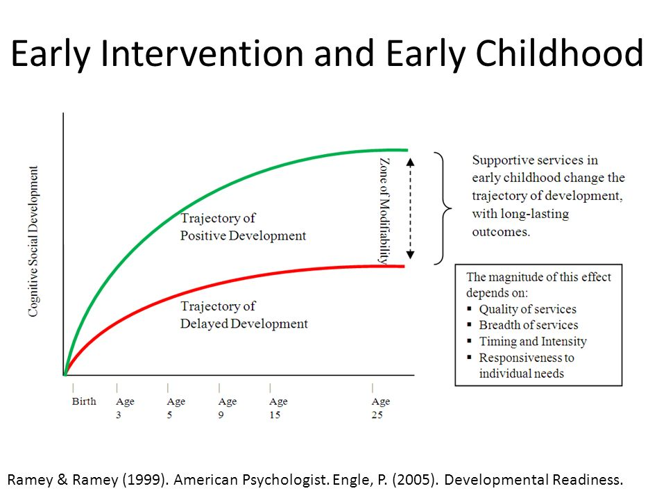 Early Intervention and Early Childhood