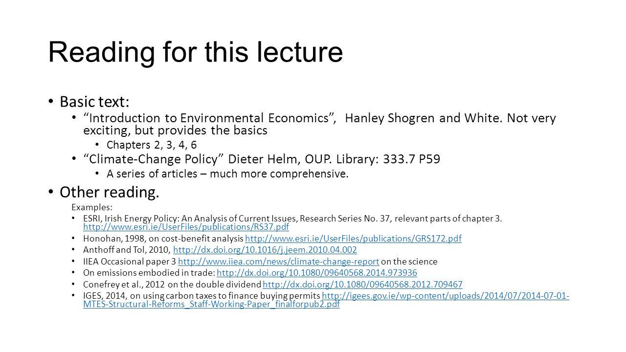 introduction to economics lecture notes pdf