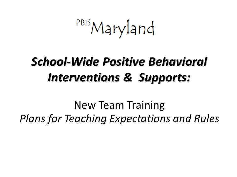 school wide positive behavior and intervention and supports plan School-wide positive behavioral interventions and supports (sw-pbis) is a multi-tiered prevention framework guiding the implementation and sustainability of evidence- based interventions to meet the academic, behavior and socio-emotional needs of all students.