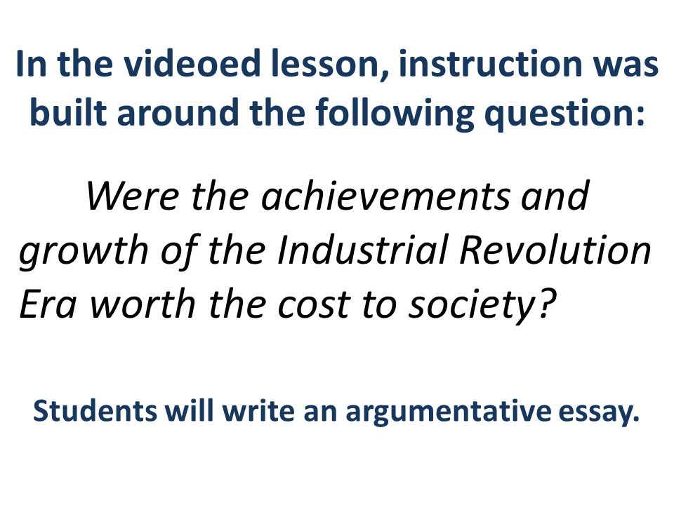 argumentative essay industrial revolution Easy argumentative essay topics  was the industrial revolution a europe-wide phenomenon in the nineteenth century  you may keep your argumentative essays for .