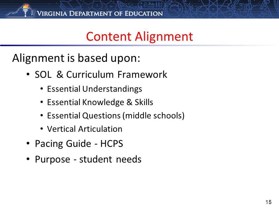 alignment and articulation essay Music curriculum framework,  and vertical alignment of knowledge and skills  and articulation and interpret them appropriately when performing.