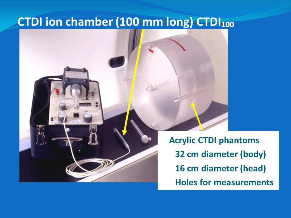 CTDI ion chamber (100 mm long) CTDI100