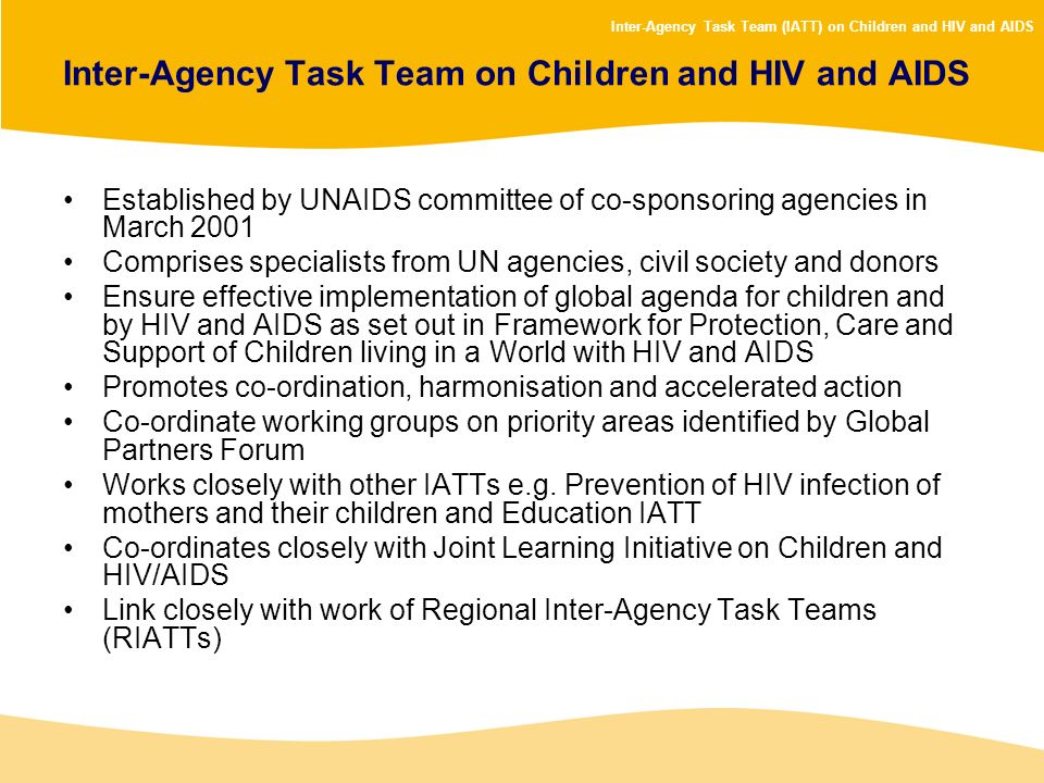 Inter-Agency Task Team on Children and HIV and AIDS