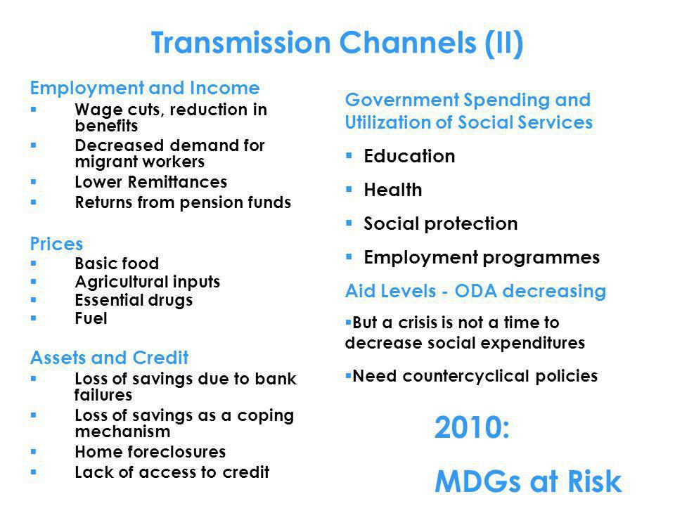 Transmission Channels (II)