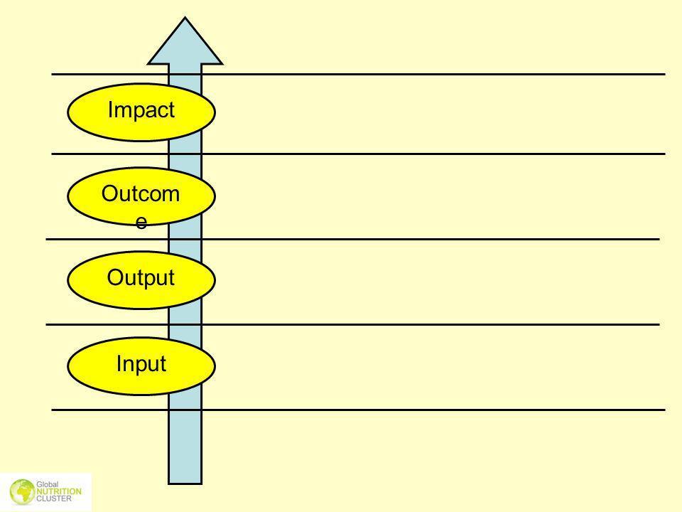 Impact Outcome Output Input