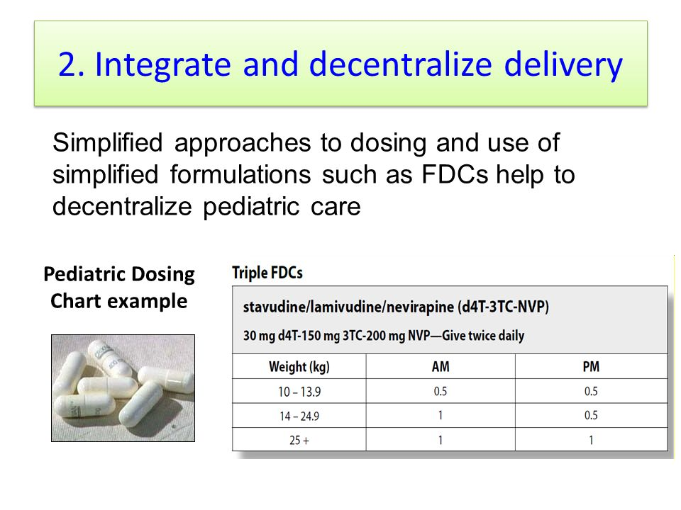 2. Integrate and decentralize delivery