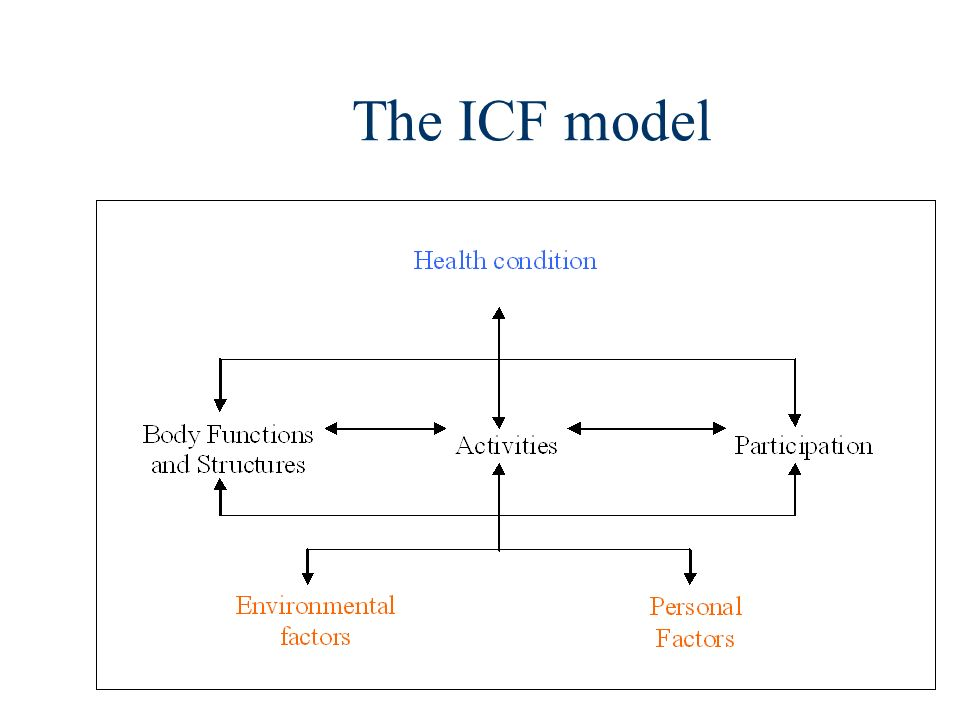 The ICF model