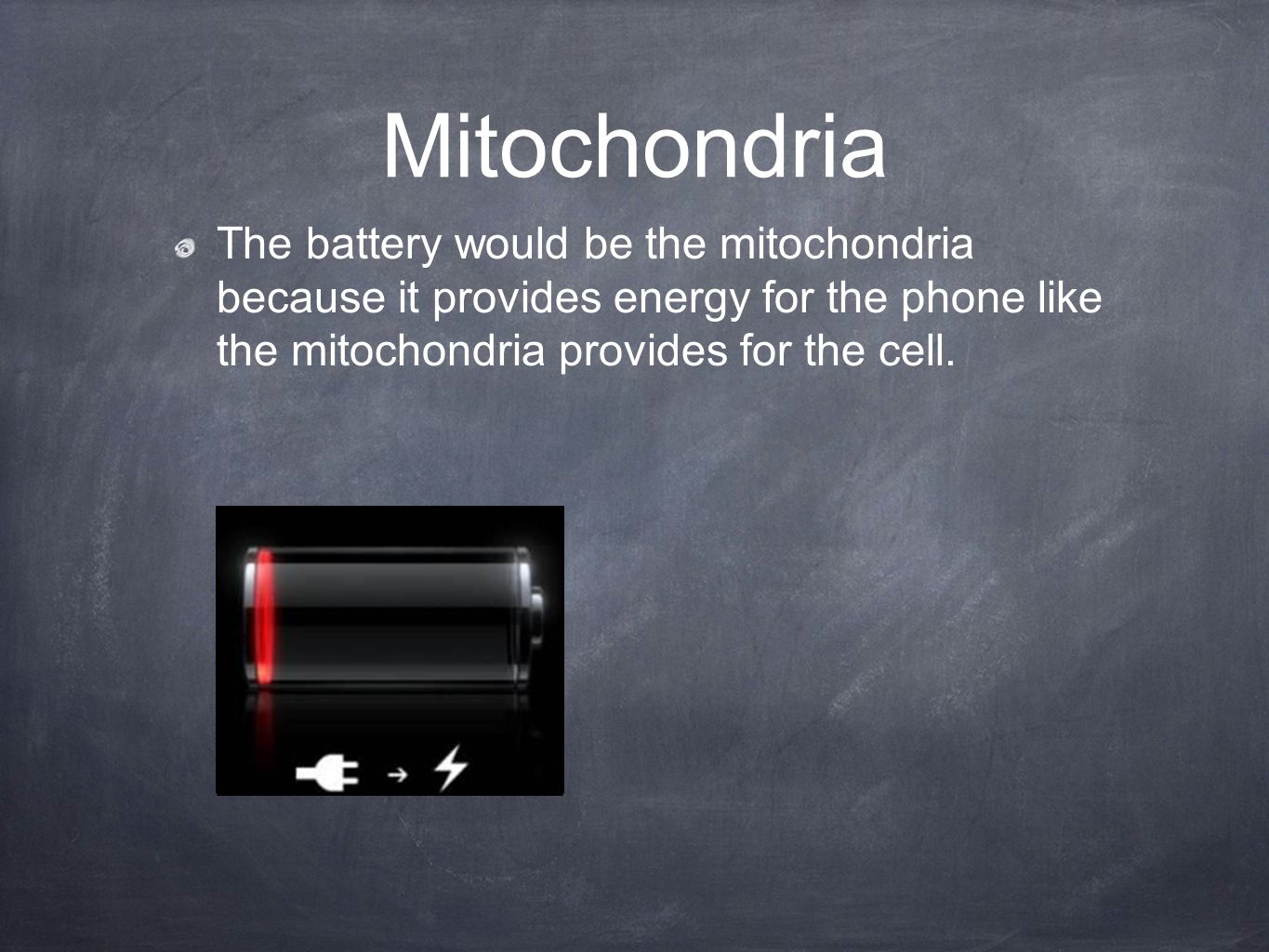 cell analogy iphone