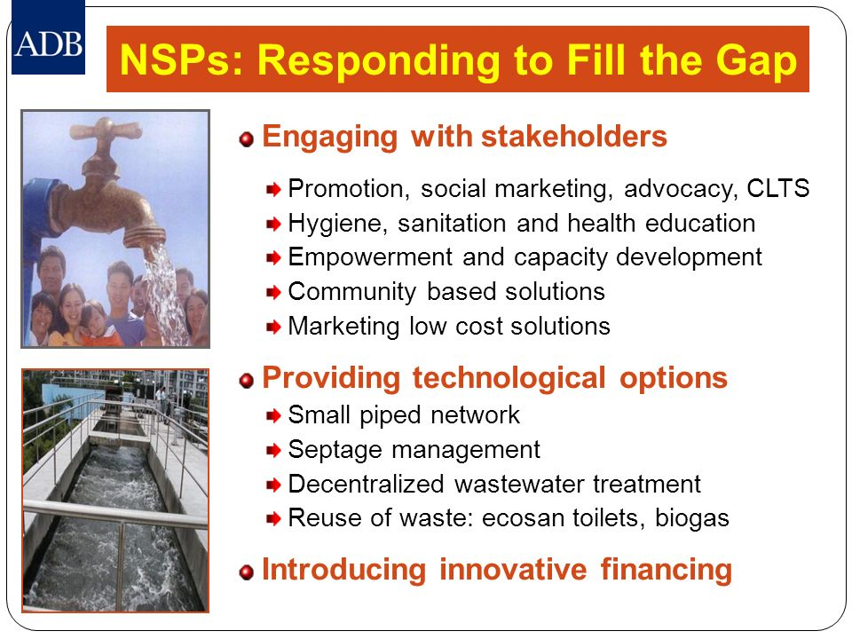 NSPs: Responding to Fill the Gap