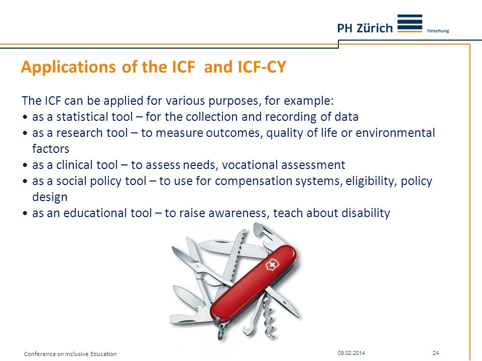 Applications of the ICF and ICF-CY