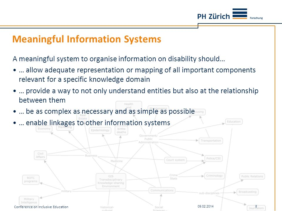 Meaningful Information Systems
