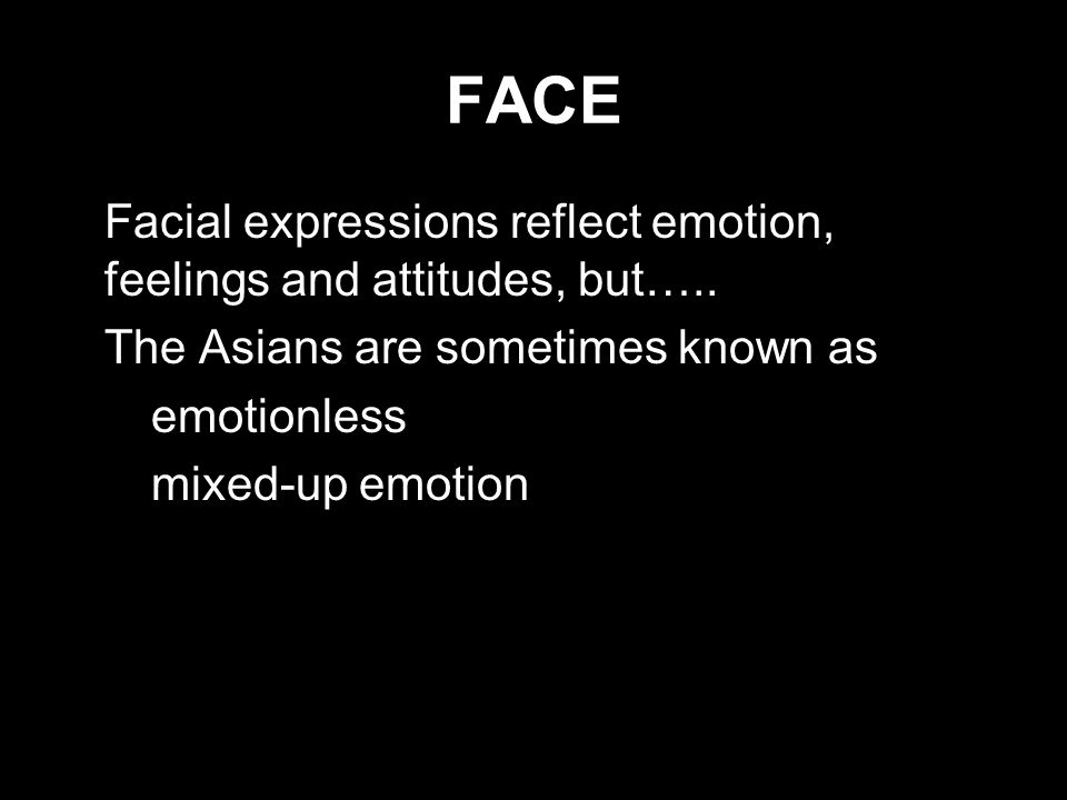 A List Of Emotions And Facial Expressions