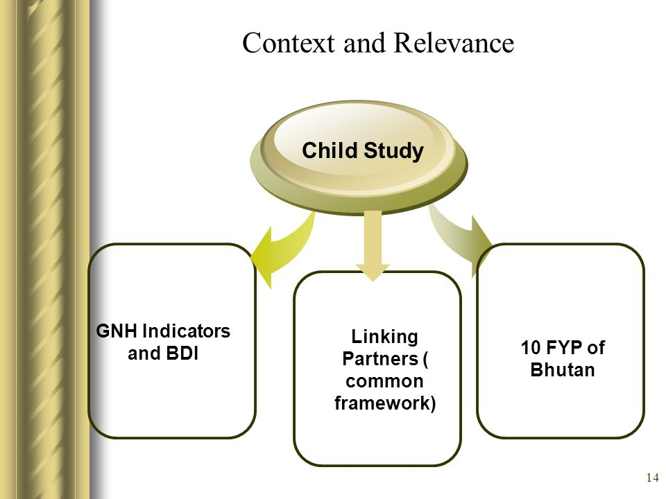 Linking Partners ( common framework)