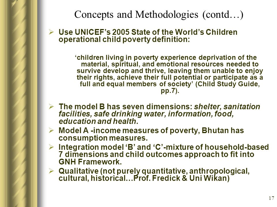 Concepts and Methodologies (contd…)