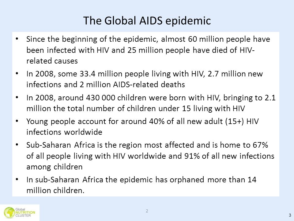 The Global AIDS epidemic