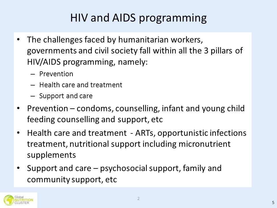 HIV and AIDS programming