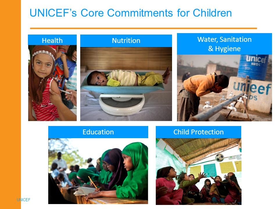 UNICEF's Core Commitments for Children