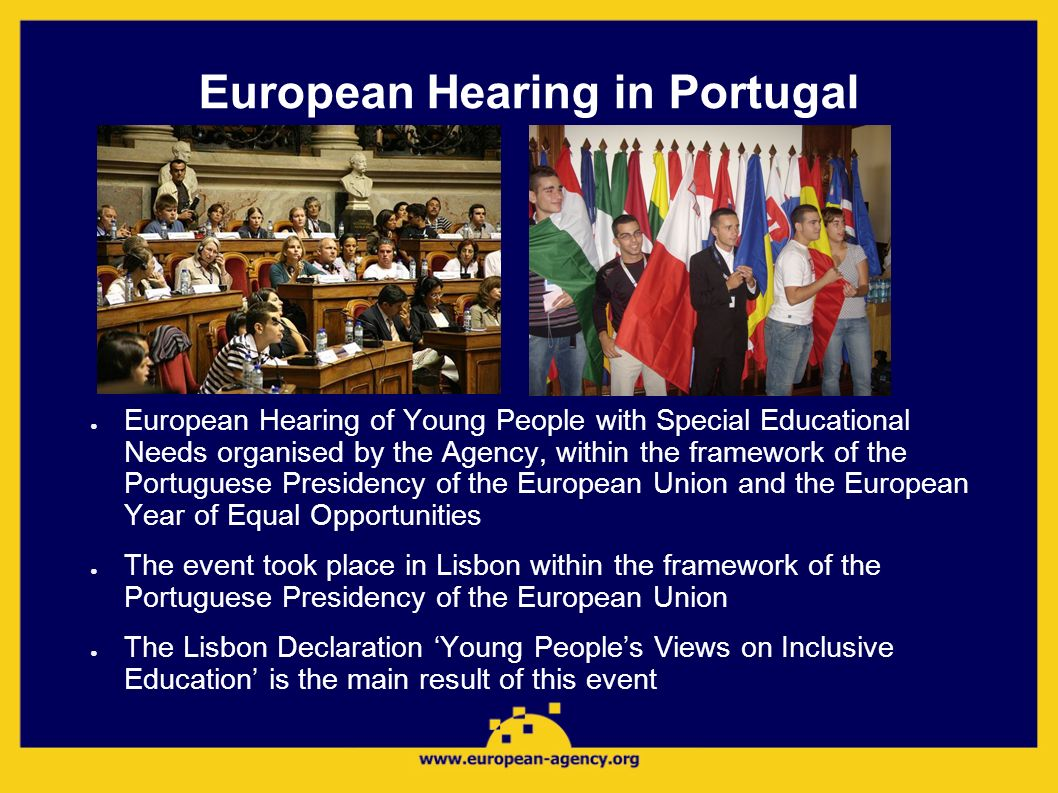 European Hearing in Portugal