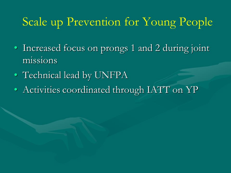 Scale up Prevention for Young People