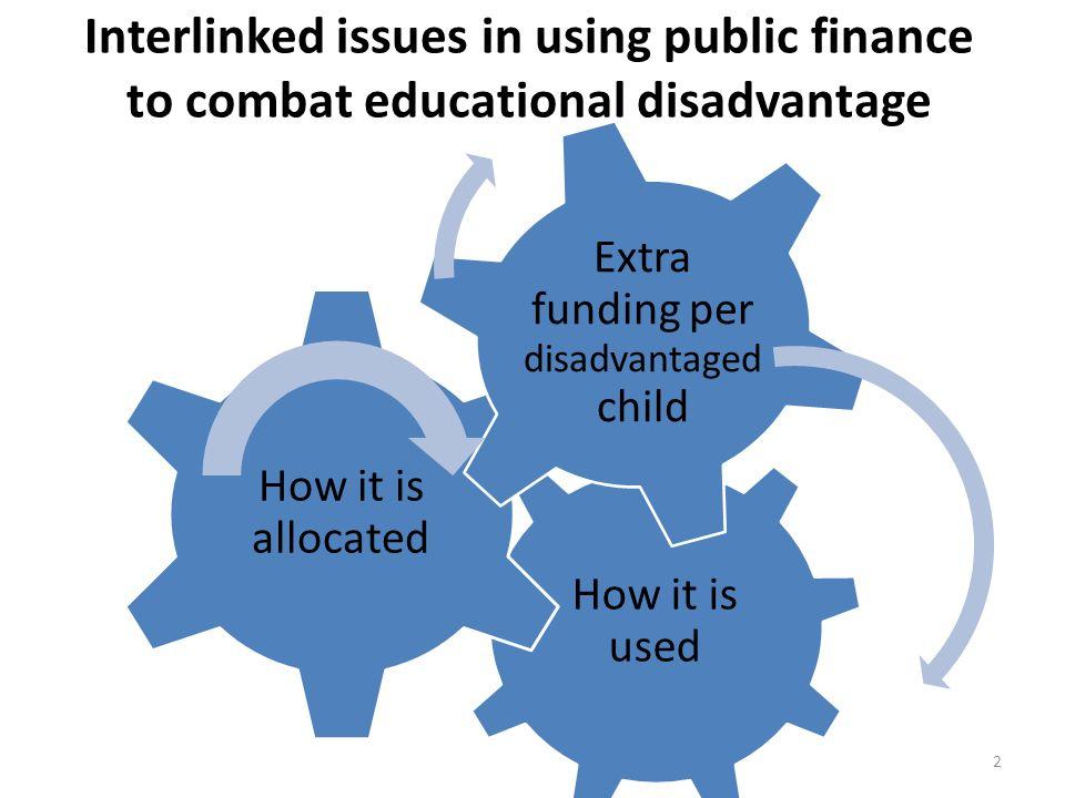 Extra funding per disadvantaged child