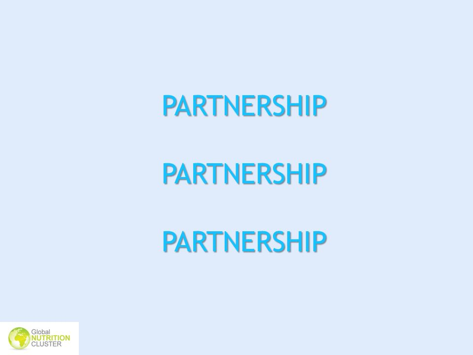 PARTNERSHIP PARTNERSHIP PARTNERSHIP