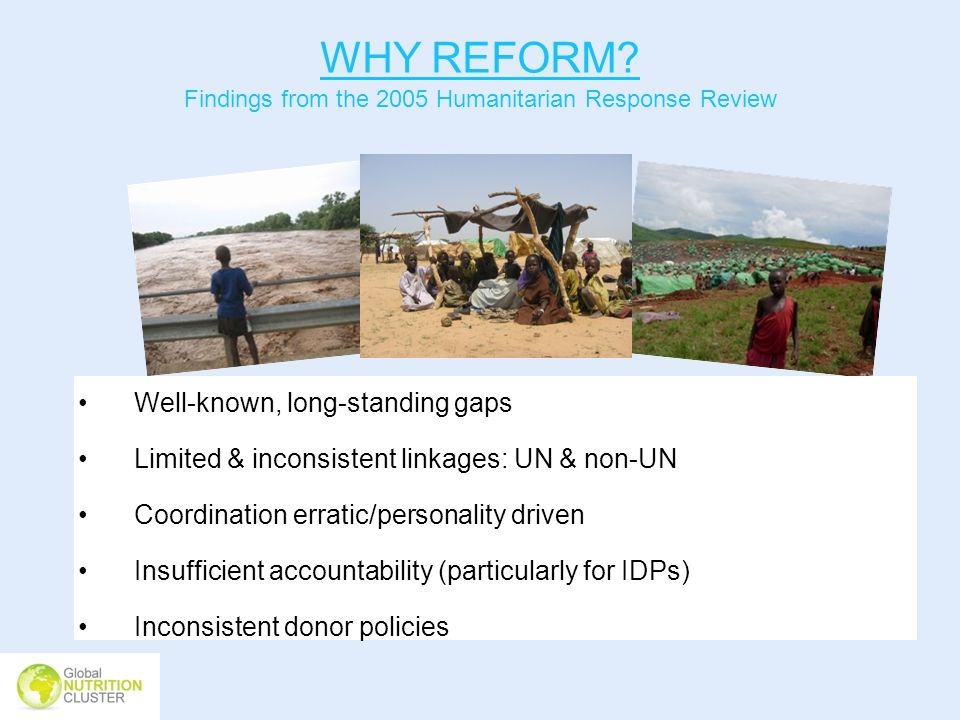 Findings from the 2005 Humanitarian Response Review