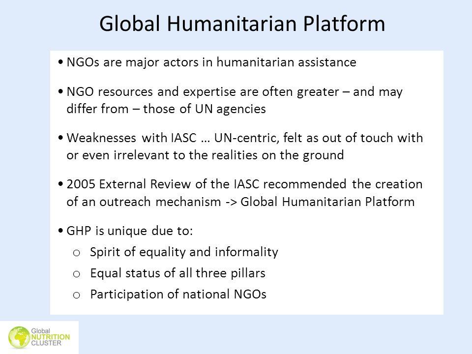 Global Humanitarian Platform