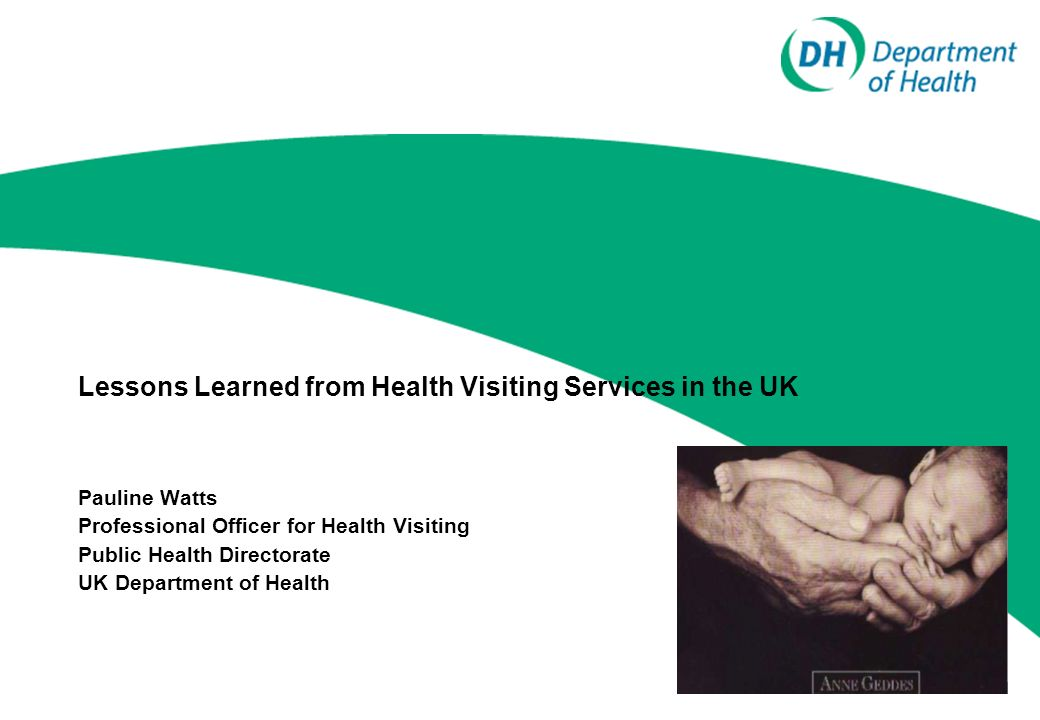 Lessons Learned from Health Visiting Services in the UK