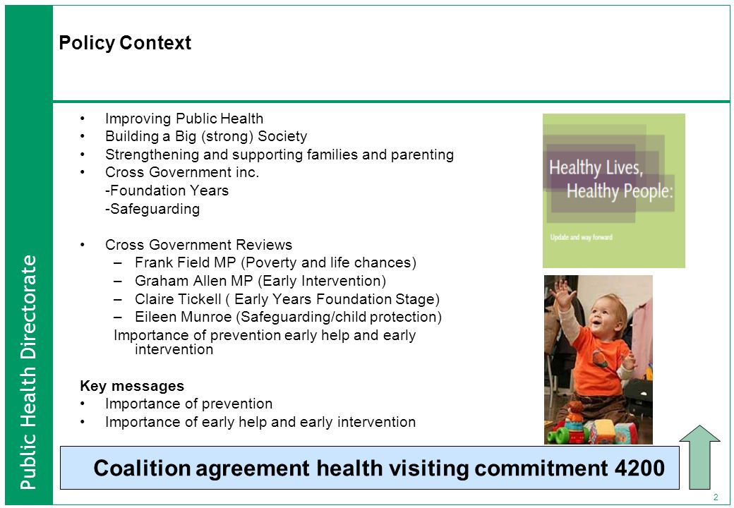 Coalition agreement health visiting commitment 4200