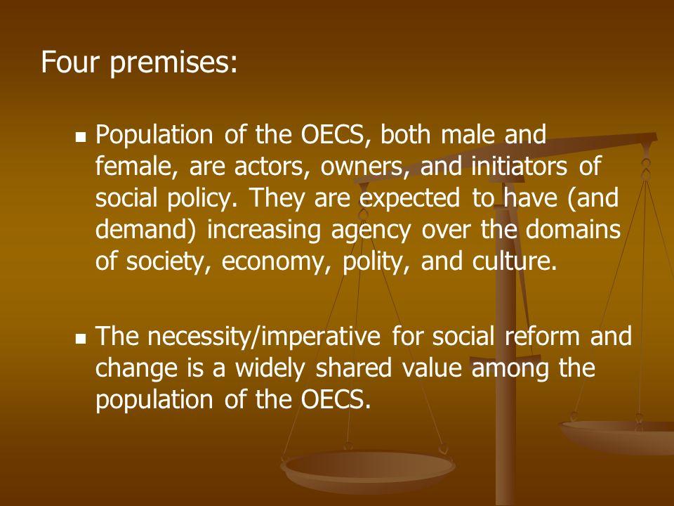 Four premises: