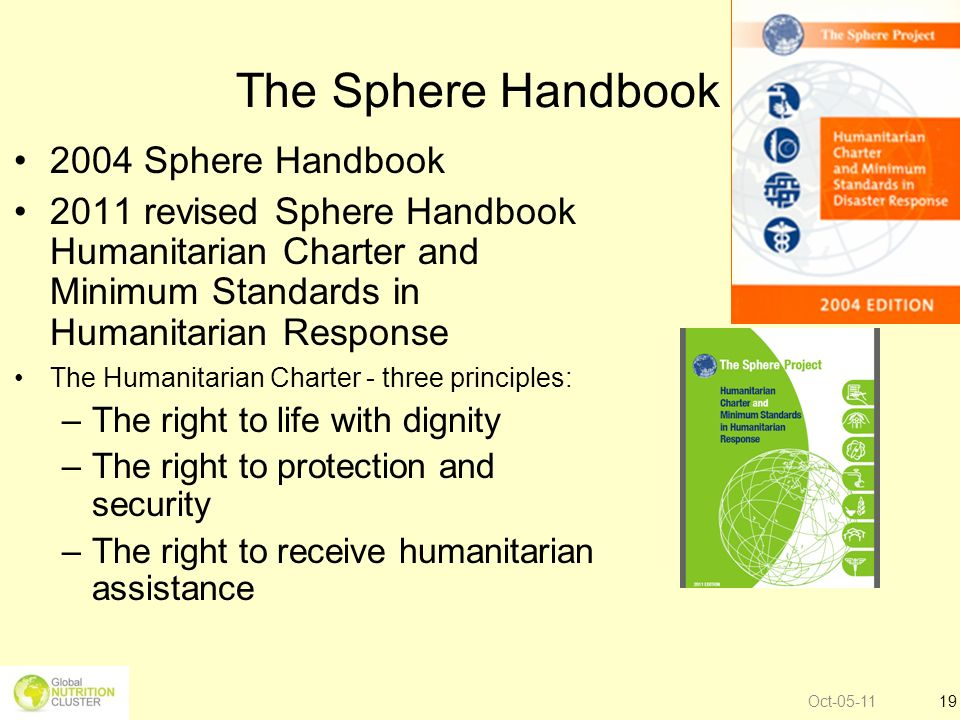 The Sphere Handbook 2004 Sphere Handbook