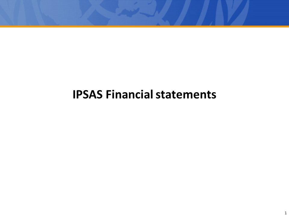 IPSAS Financial statements