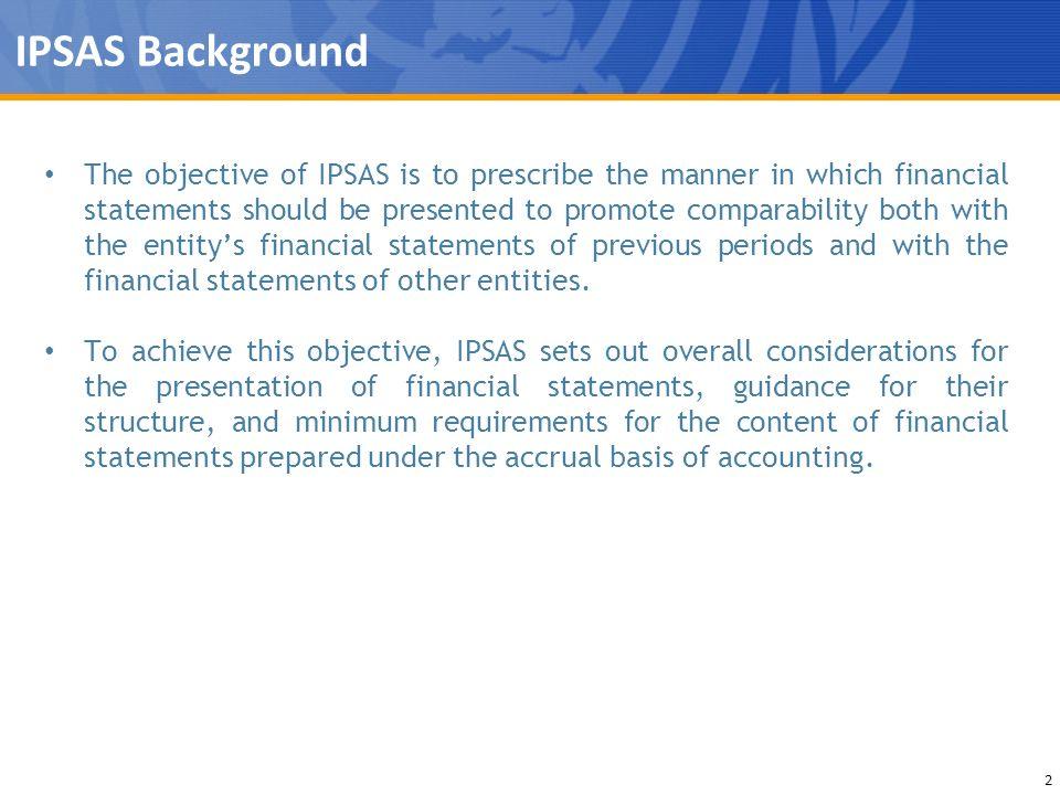 IPSAS Background