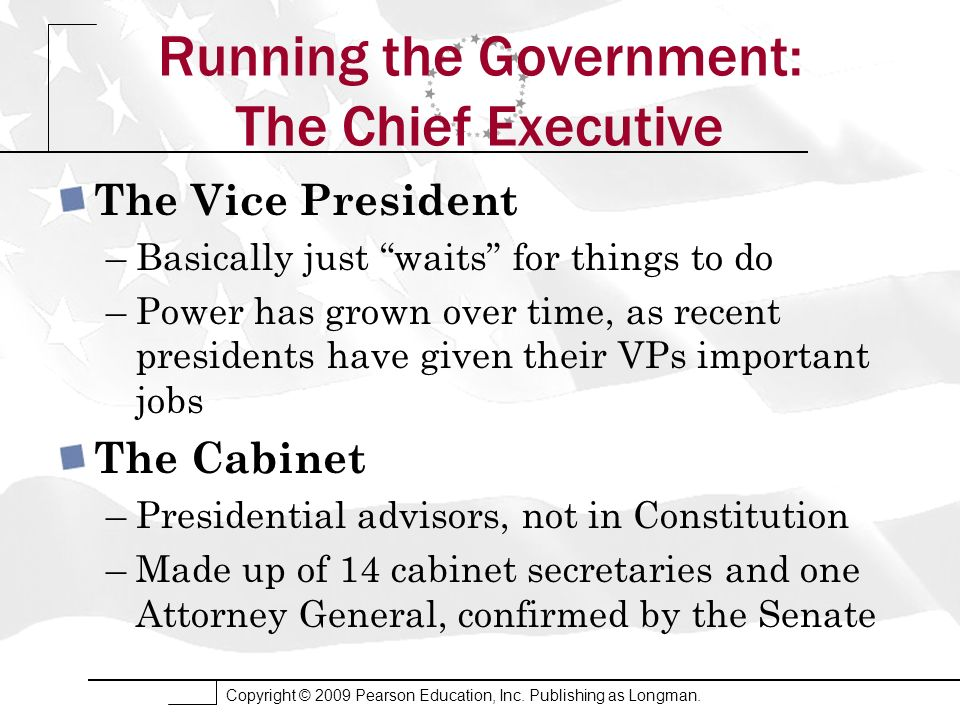 The Presidency (THE EXECUTIVE BRANCH) - ppt video online download