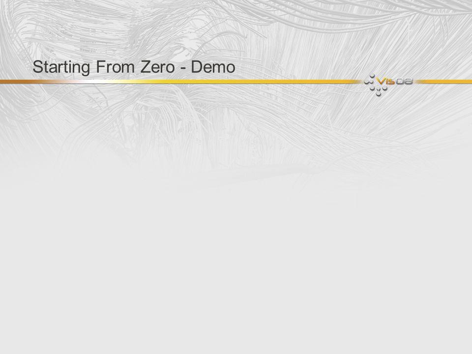 Starting From Zero - Demo