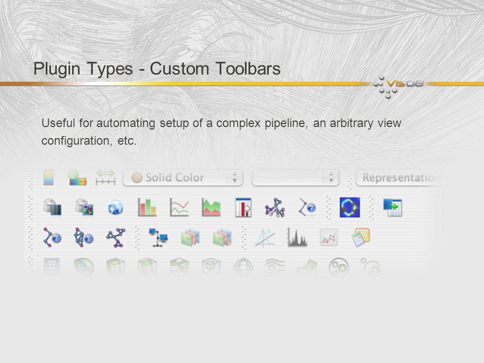 Plugin Types - Custom Toolbars