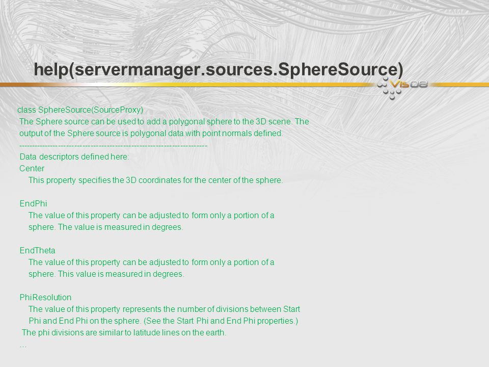 help(servermanager.sources.SphereSource)