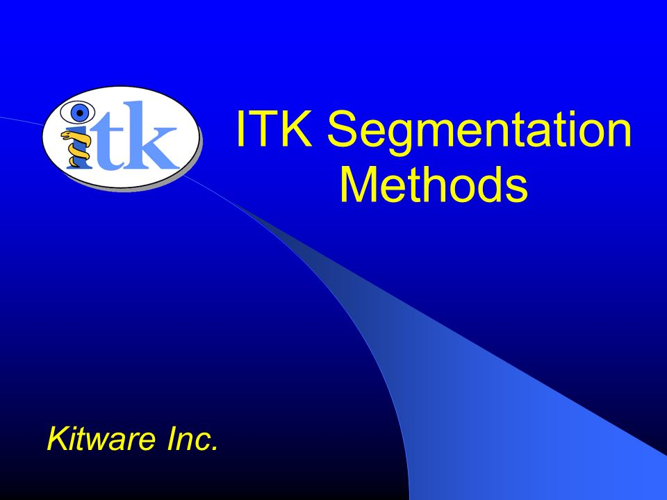 ITK Segmentation Methods