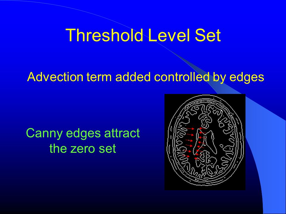 Advection term added controlled by edges